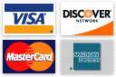 We Proudly Accept American Express, Mastercard, and Visa